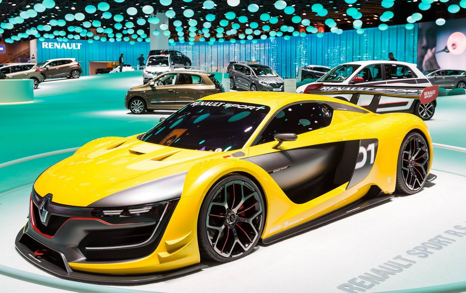 Renault Sport RS01 Race Car Colors To Influence Final F1