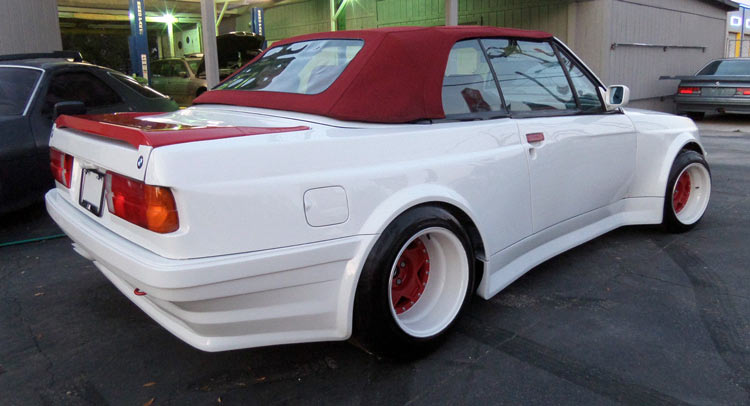 This BMW I Convertible Looks Like A Pregnant Guppy Carscoops - 325i bmw convertible