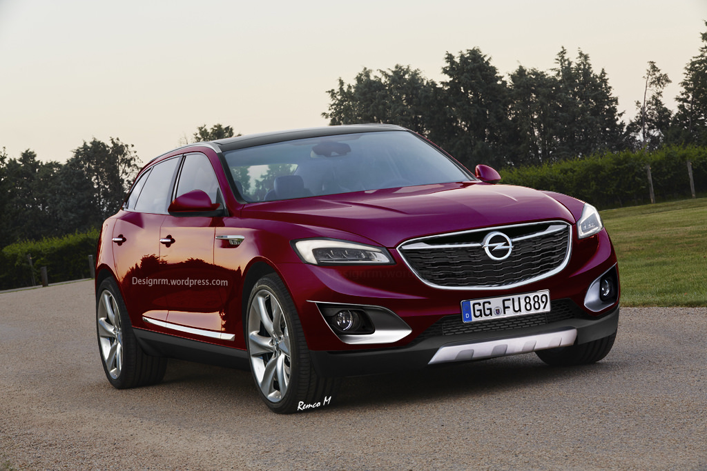 opel plans new flagship suv before the end of the decade carscoops. Black Bedroom Furniture Sets. Home Design Ideas