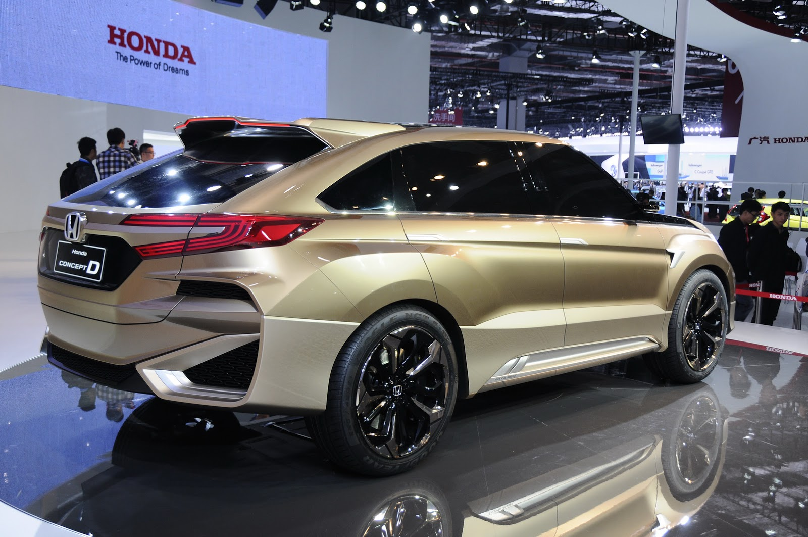 Honda To Launch Concept D Based Ur V Model In China Carscoops