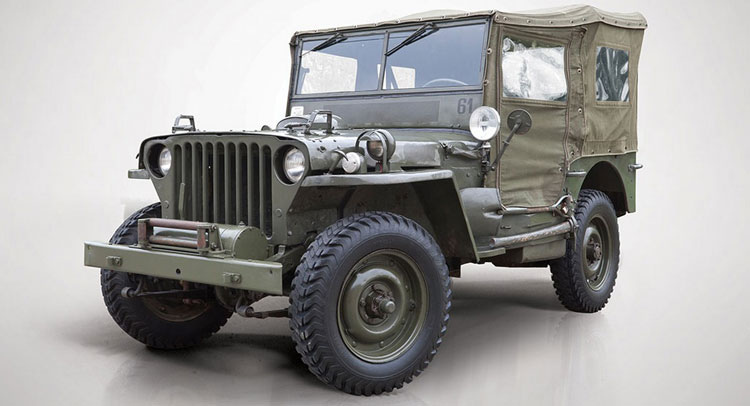wwii military willys jeep mb could be the perfect restoration project carscoops. Black Bedroom Furniture Sets. Home Design Ideas