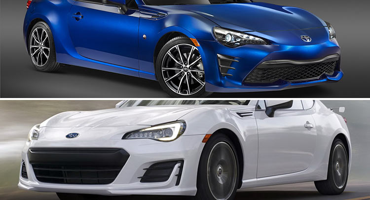 2017 subaru brz vs 2017 toyota 86 which one do you like more and why carscoops. Black Bedroom Furniture Sets. Home Design Ideas