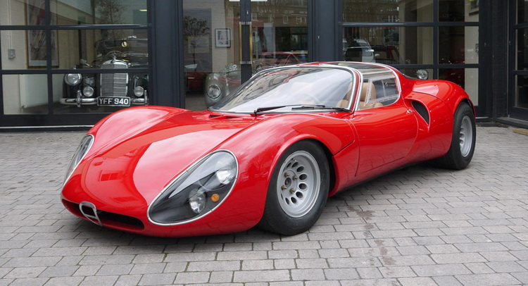 Alfa romeo tipo 33 stradale auction 10