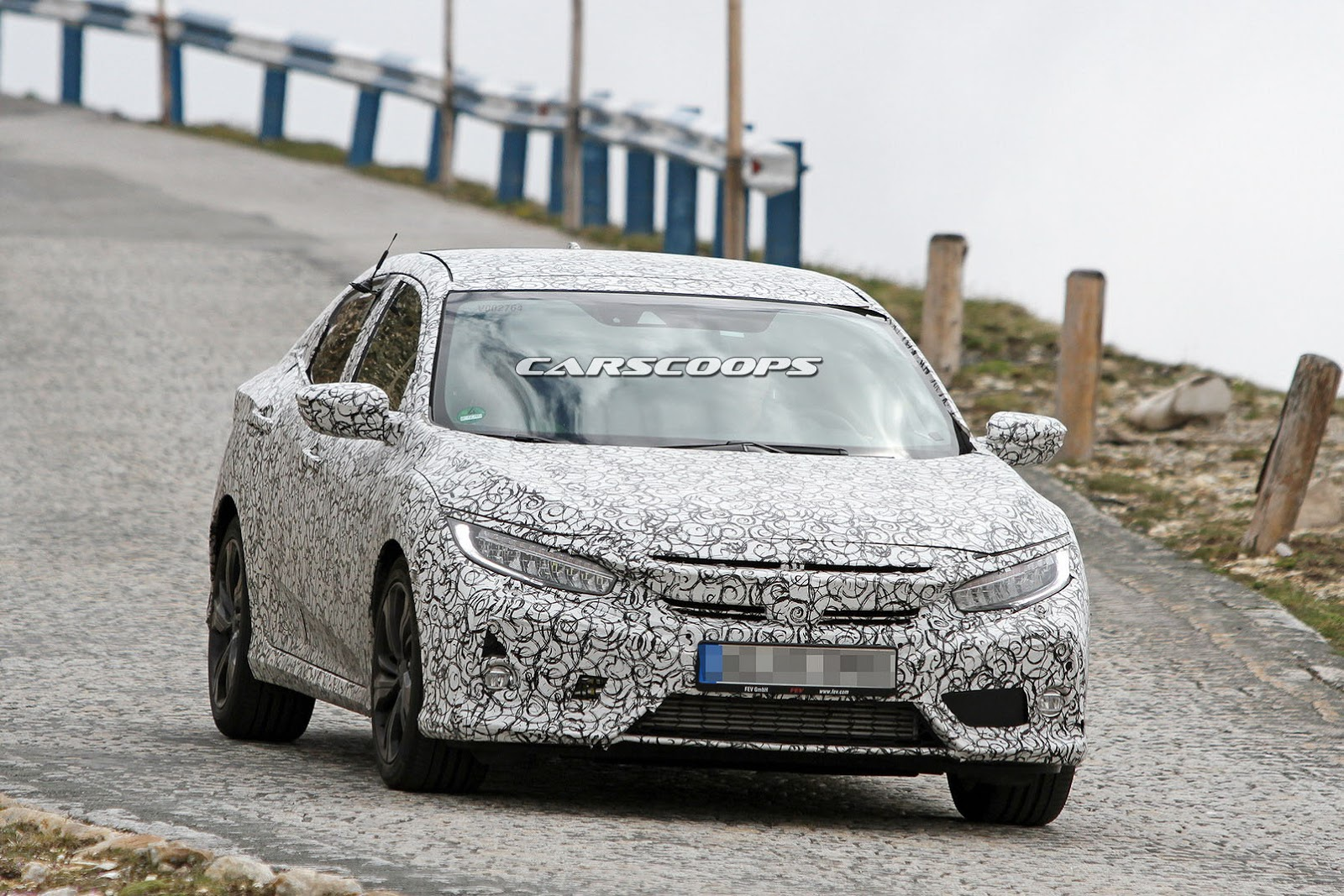 2017 Honda Civic Hatch Spied And This One Is Coming To Us