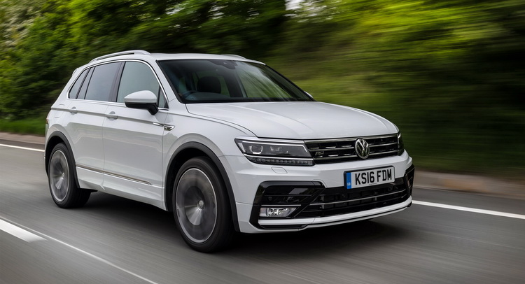 First Drive Can Vw S New 2017 Tiguan Become The Default Suv In Cl Carscoops