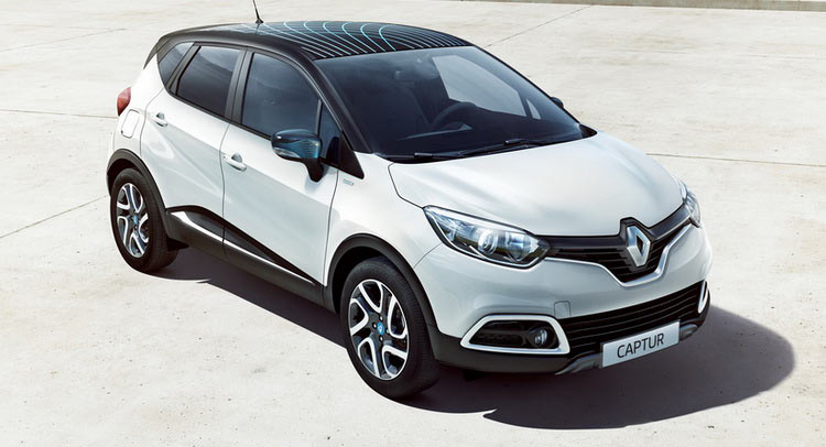 renault debuts limited edition captur wave adds tce 120 manual to range carscoops. Black Bedroom Furniture Sets. Home Design Ideas