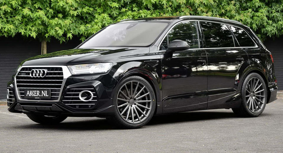 abt audi qs7 puts on 22 custom wheels in the netherlands carscoops. Black Bedroom Furniture Sets. Home Design Ideas
