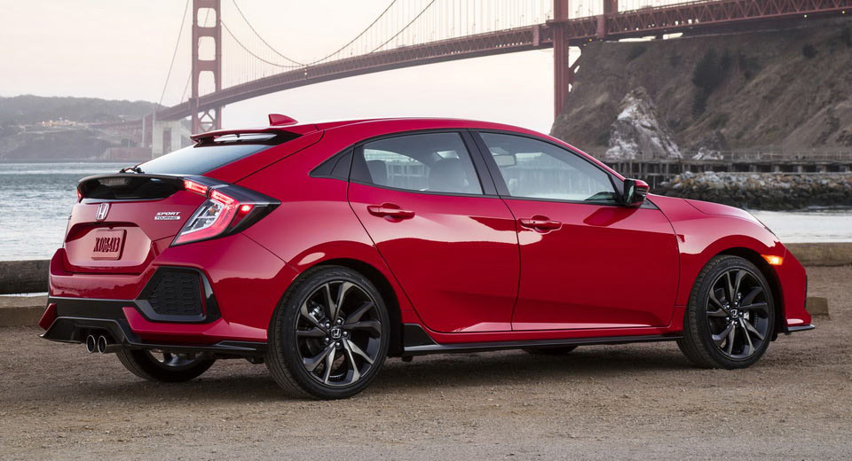 2017 honda civic hatchback priced from 19 700 in the us on sale next week carscoops. Black Bedroom Furniture Sets. Home Design Ideas