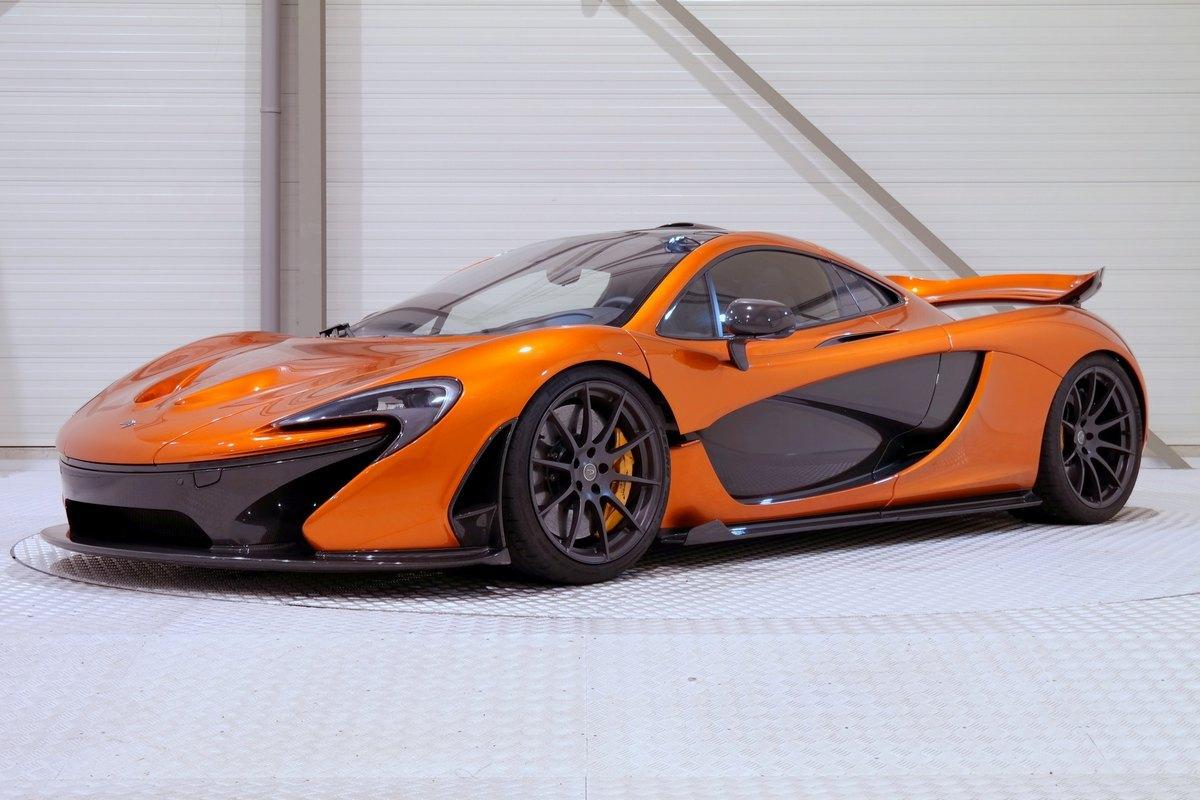 Mclaren P1 Orange >> This Volcano Orange Mclaren P1 Is A 1 9 Million Bargain