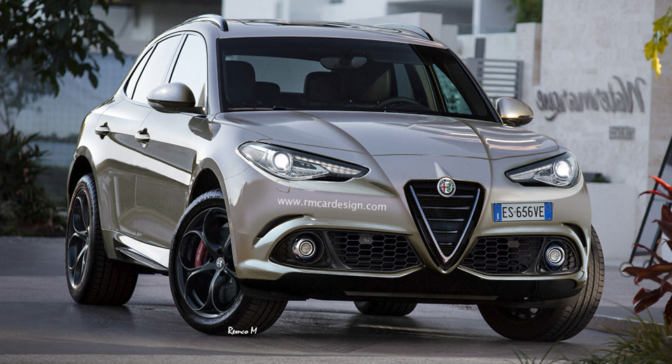 Alfa Romeo Los Angeles >> Alfa Romeo Stelvio Suv To Debut At Los Angeles Auto Show Carscoops