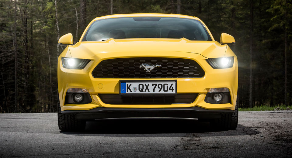 Germany S Mustang Gt Policy Car