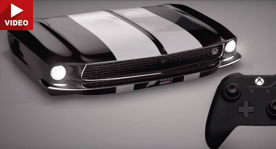 Mustang And Lamborghini-Inspired Xbox Consoles Up For Grabs