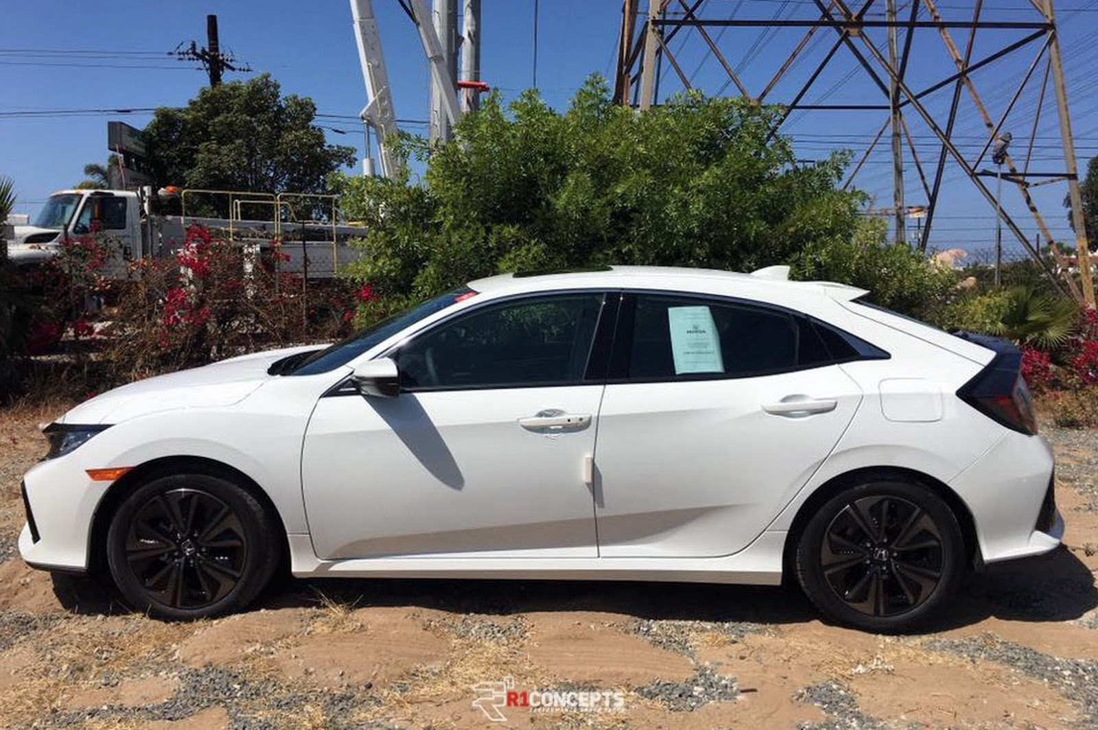New 2017 Honda Civic Hatch Nabbed Out In The Open Carscoops