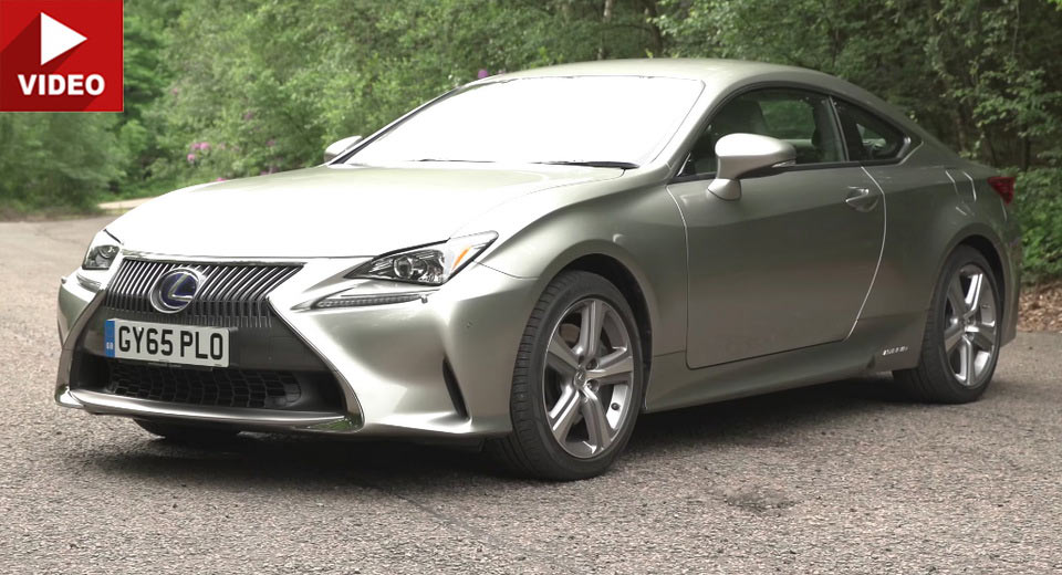 Lexus rc coupe reviews