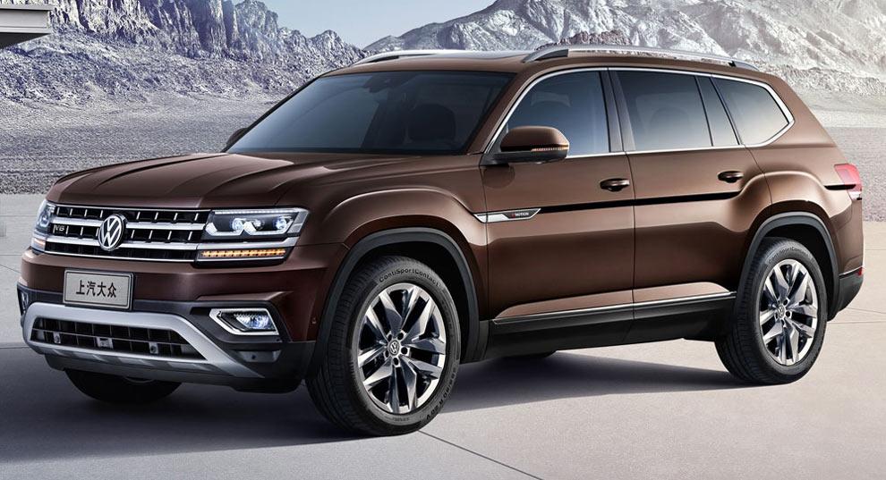 New Volkswagen Teramont Is China S Atlas Suv Carscoops