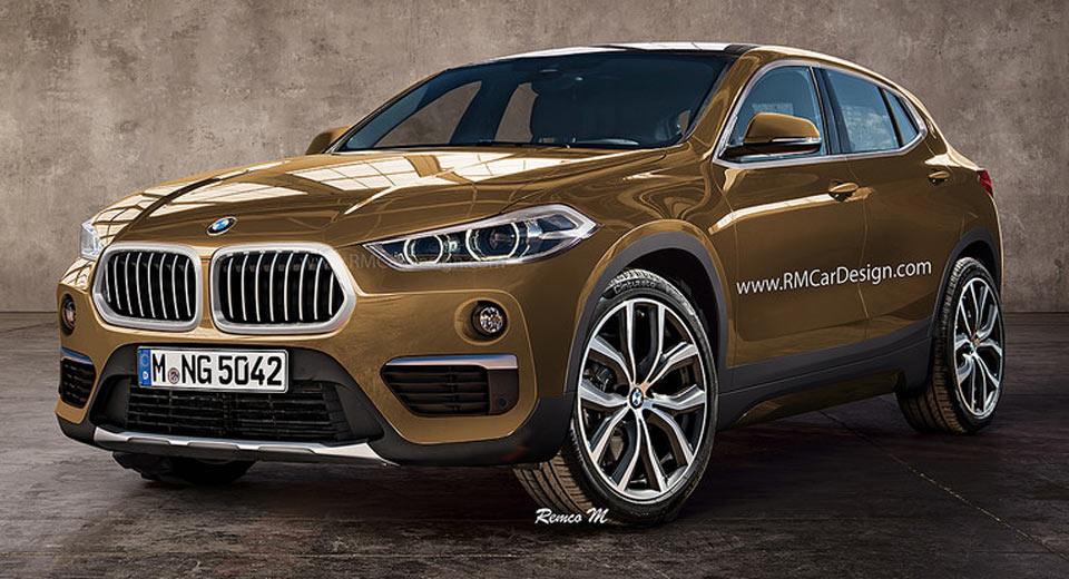 BMW X2 Tries On A Production-Spec Suit, Looks Sleek