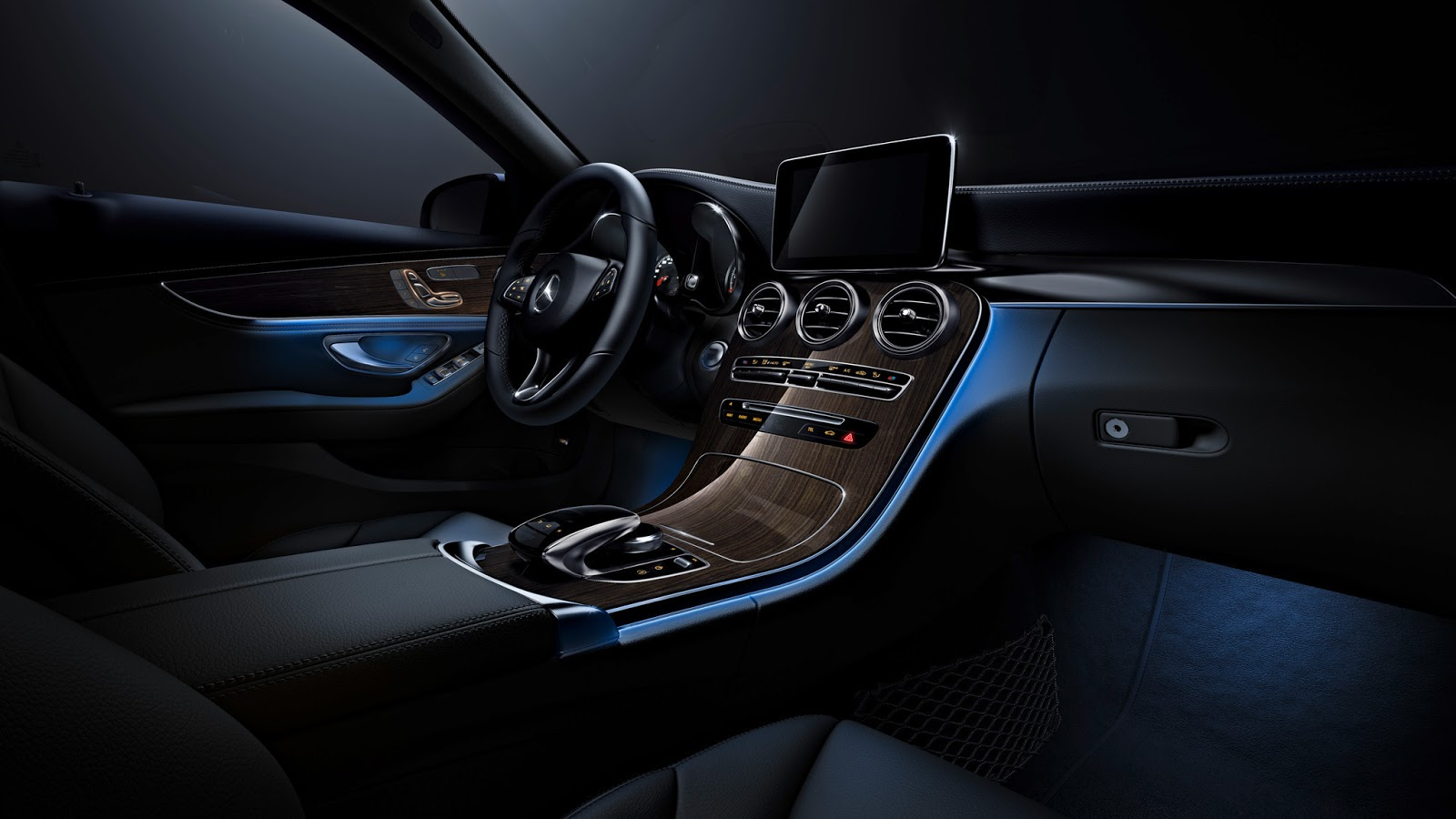 Mercedes Benz C Class Receives S Class Inspired Ambient