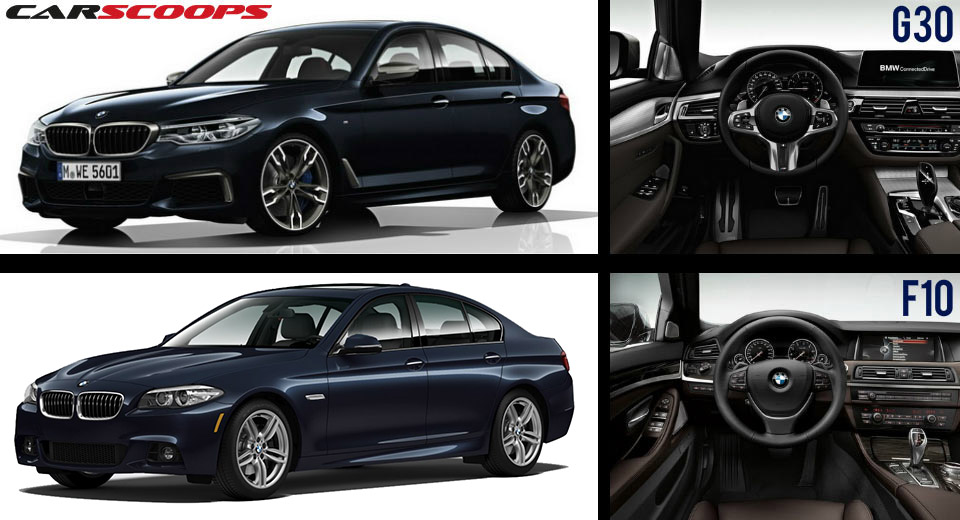 Goede BMW's G30 5-Series Vs F10 5-Series: Out With The Old, In With The AT-94