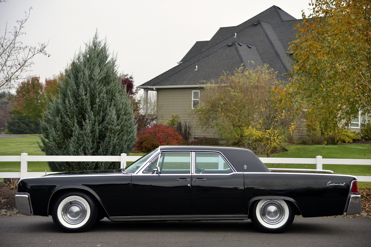 Iconic 1963 Lincoln Continental Offered At Auction With No Reserve