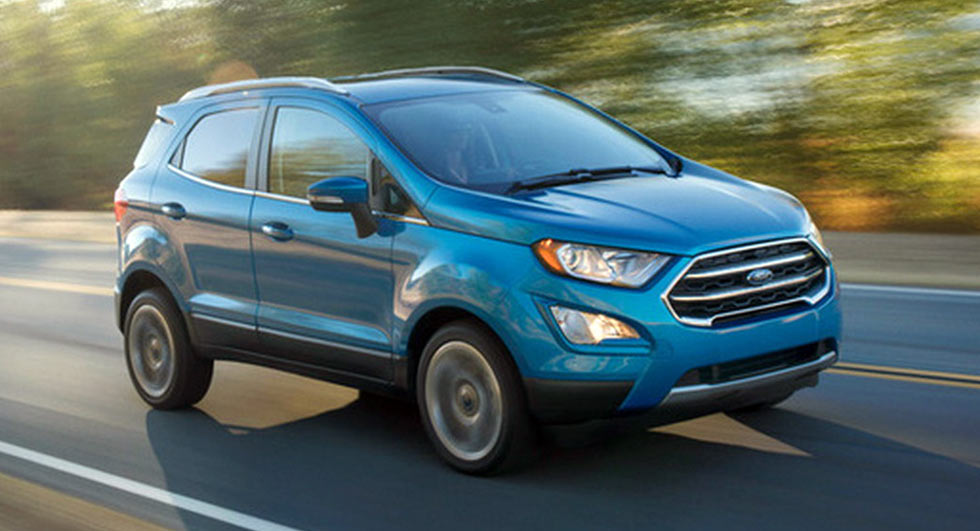 2018 Ford EcoSport Subcompact SUV Coming To USA With 1.0L ...