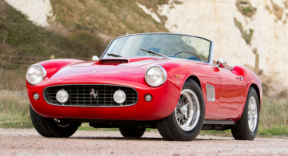 Relive Ferris Bueller S Day Off With This 1960 Ferrari 250 Gt California Spider Carscoops