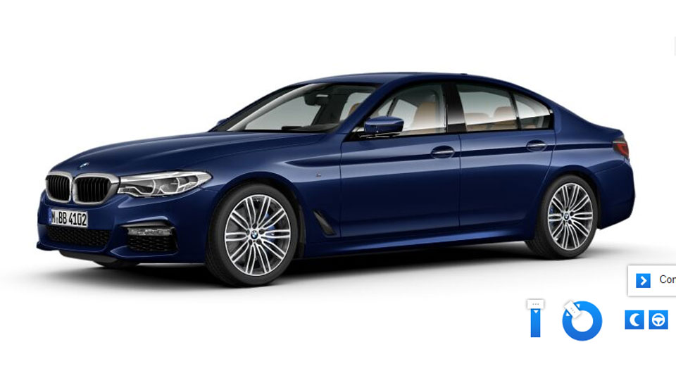 Create Your Perfect Bmw 5 Series With Online Configurator Carscoops