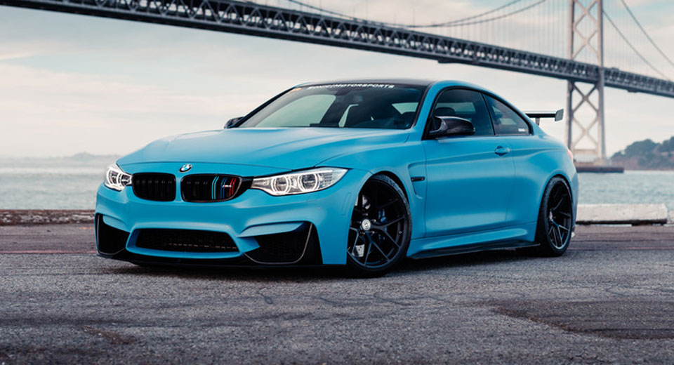 Frozen Yas Marina Blue BMW M Is The Ultimate Smurf Carscoops - Blue bmw