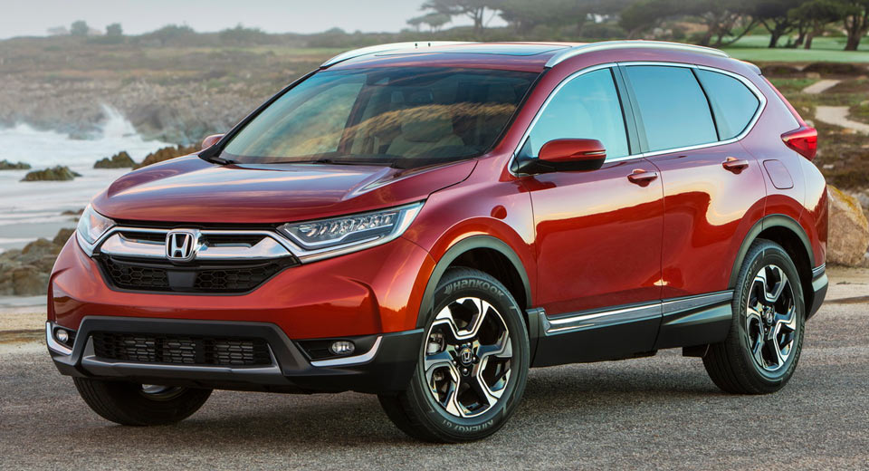 2017 Honda Cr V Launches With New Turbo Engine And A 24 045