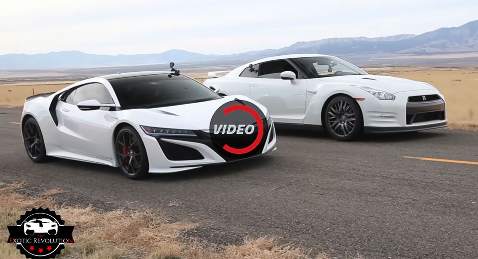 Honda Nsx Price >> What's Quicker, The New Acura NSX Or Nissan GT-R? | Carscoops