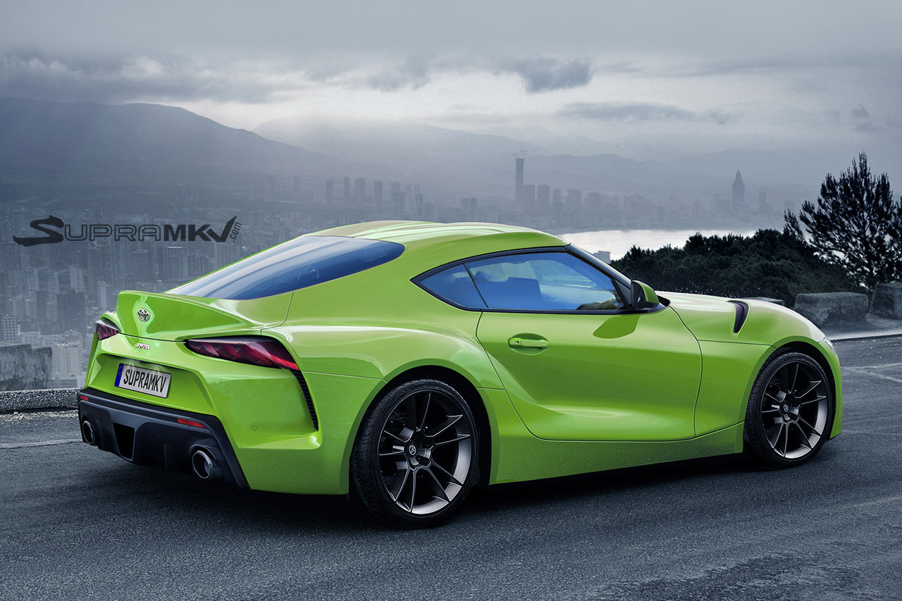 New Toyota Supra Rendering Comes With Ft 1 Concept