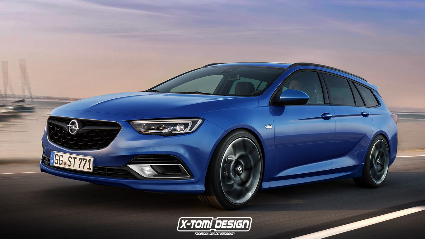 should opel build an insignia sports tourer opc carscoops. Black Bedroom Furniture Sets. Home Design Ideas