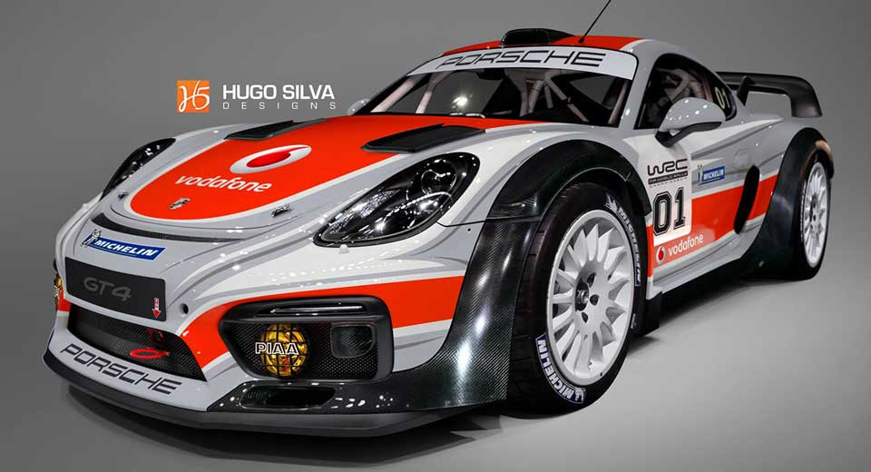 Wouldn\'t It Be Awesome If Porsche Built This Cayman GT4 For The WRC ...