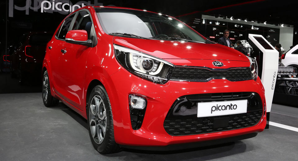 All New 2017 Kia Picanto Is Bolder Roomier And More Upscale Carscoops