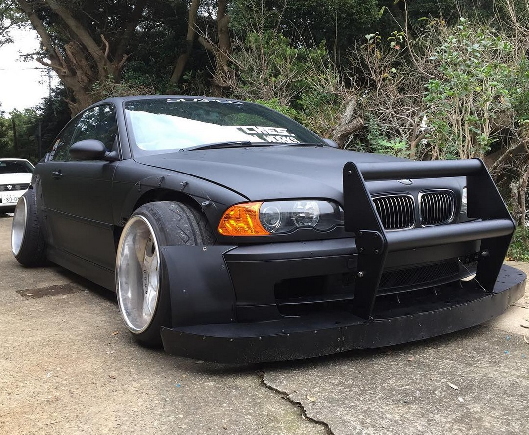 Bmw M3 E46 Follows Strange New Japanese Tuning Trend