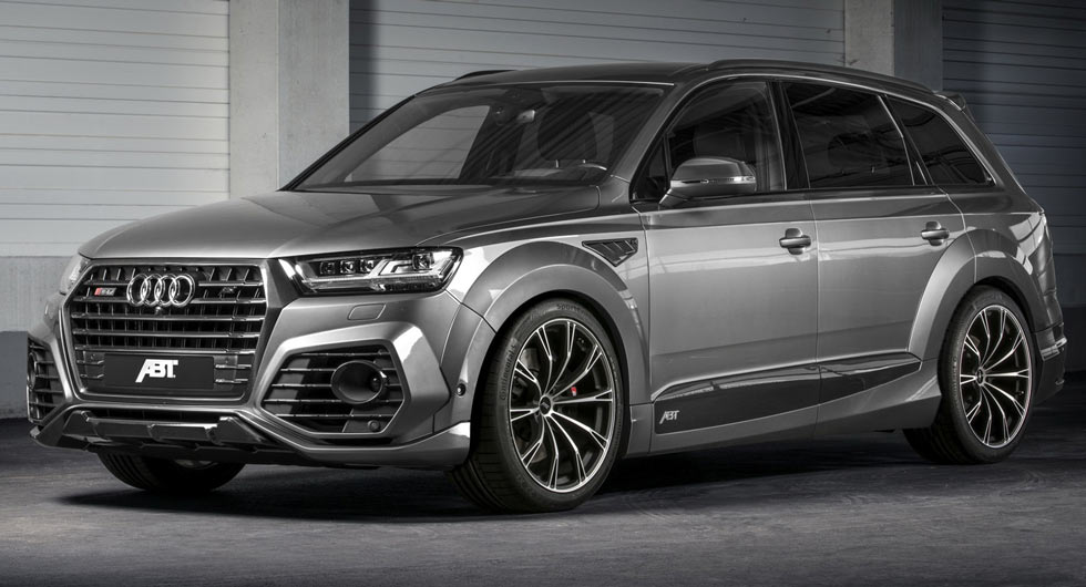 New Audi SQ7 Gets The Works From ABT With 520 Horses | Carscoops