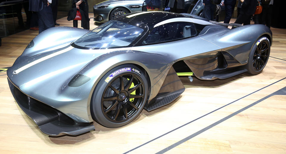 New Aston Martin Valkyrie Scares Off All Other Hypercars In Geneva |  Carscoops