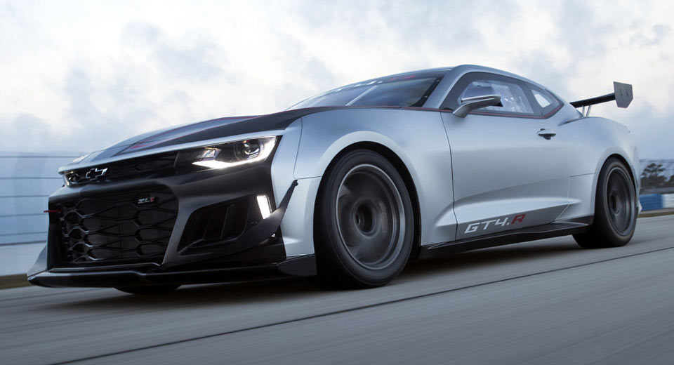 Chevy\'s New ZL1-Based Camaro GT4.R Ready To Face The World\'s Best ...