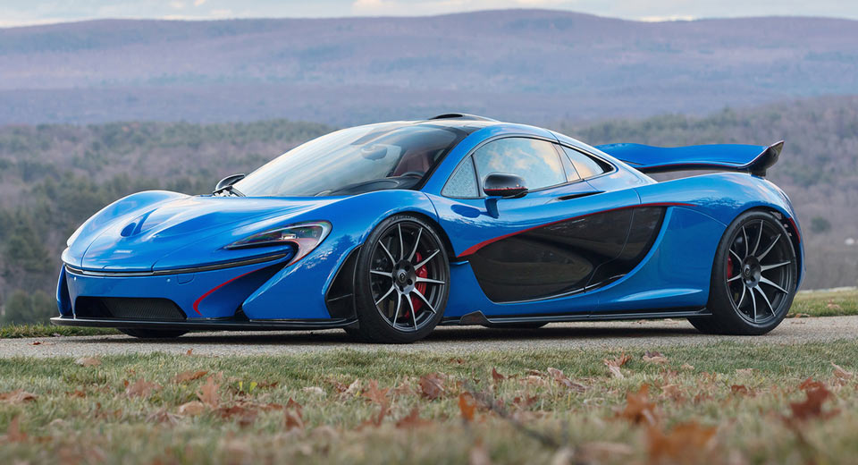 This Blue McLaren P1 Is The Most Expensive Ever | Carscoops