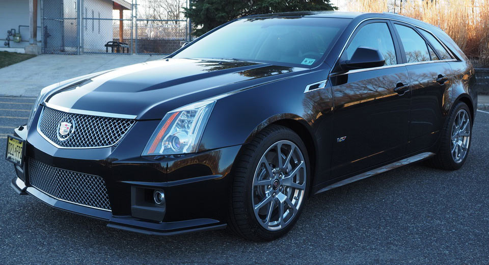 2012 Cadillac Cts V Wagon With 6sp Manual Is A Family Guy S Muscle