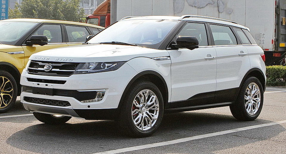 Landwind Continues To Irk Land Rover As Strong Sales Of Evoque Clone Add Insult To Injury | Carscoops