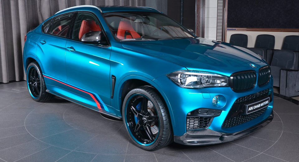 Enhanced Bmw X6m Is A Tribute To All Things M Performance Carscoops