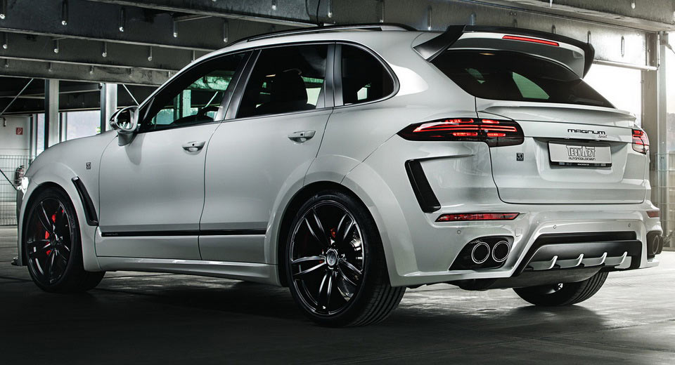 techart s new 720hp porsche cayenne magnum sport is not. Black Bedroom Furniture Sets. Home Design Ideas