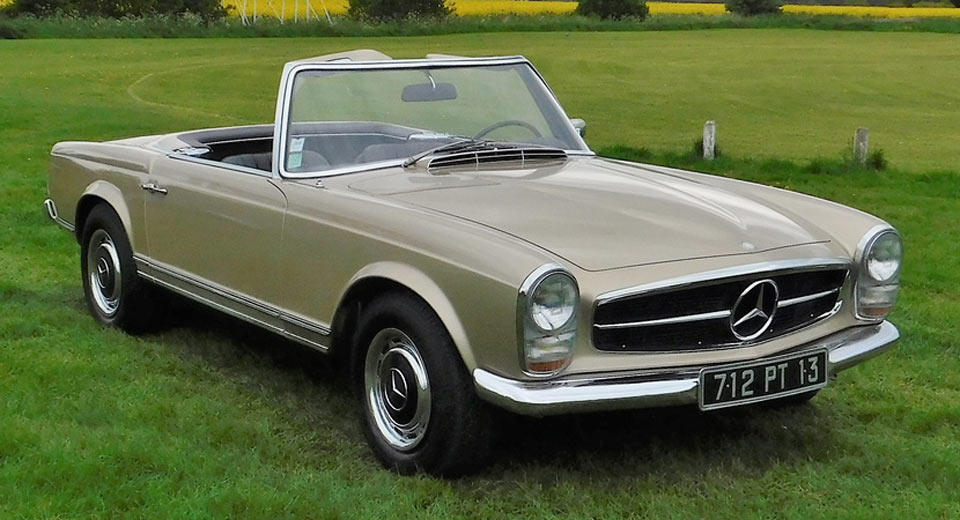 Cruise the french riviera in style with this classic for Mercedes benz 280sl pagoda