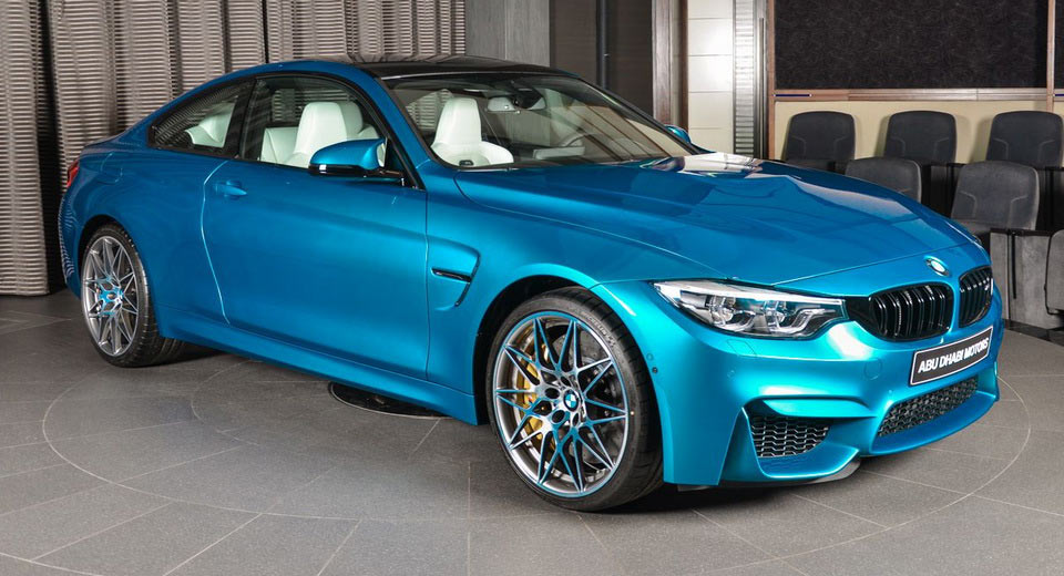 Unique Color Combos Make This Bmw M4 A One Of One Carscoops