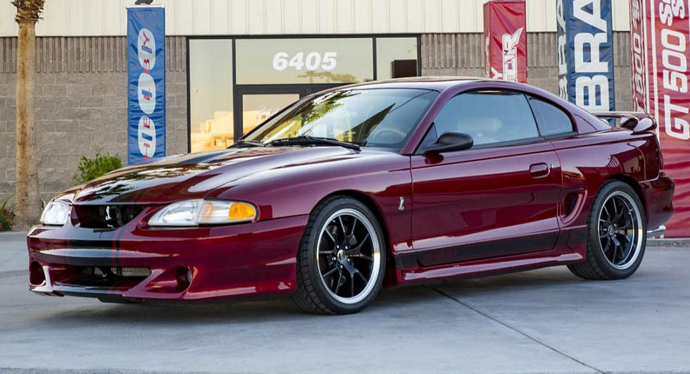 Shelby Reimagines The 1997 Ford Mustang Gt