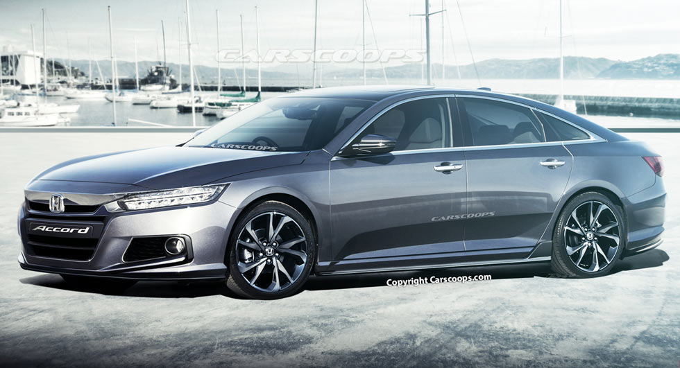 Honda Accord 2014 Coupe V6 >> Future Cars: 2018 Honda Accord Goes From Placid to Playful | Carscoops