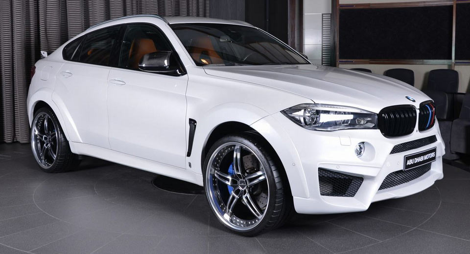 Bmw X6 M Is Dripping With Ac Schnitzer Custom Parts Carscoops
