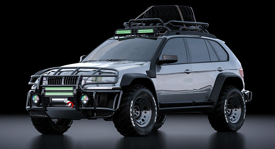 Bmw X5 Looks Ready To Tackle Some Steep Virtual Slopes