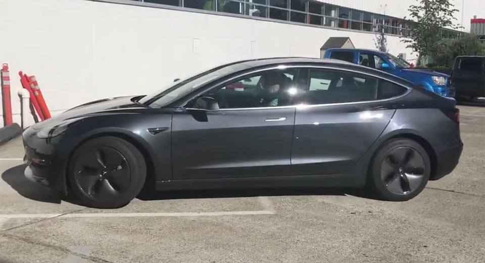 Tesla Model 3 Aero Wheels Said To Improve Range By 10 Per ...