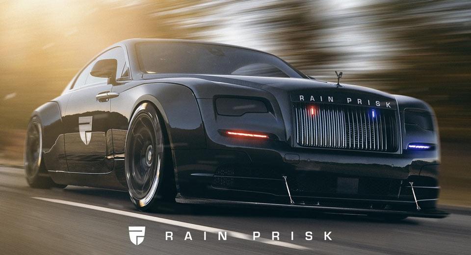 Rolls Royce Wraith Police Cruiser Would Gladly Patrol